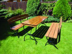 BRAVO set - 160 cm Rojaplast - vše pro venkovní posezení na zahradě a na terase