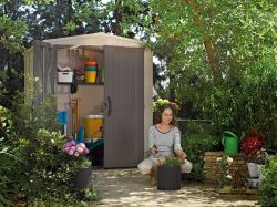 FACTOR domek 6x6 Keter - vše pro venkovní posezení na zahradě a na terase