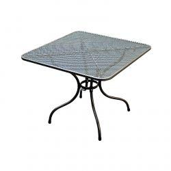 TAKO 105 x 105 cm stůl kovový