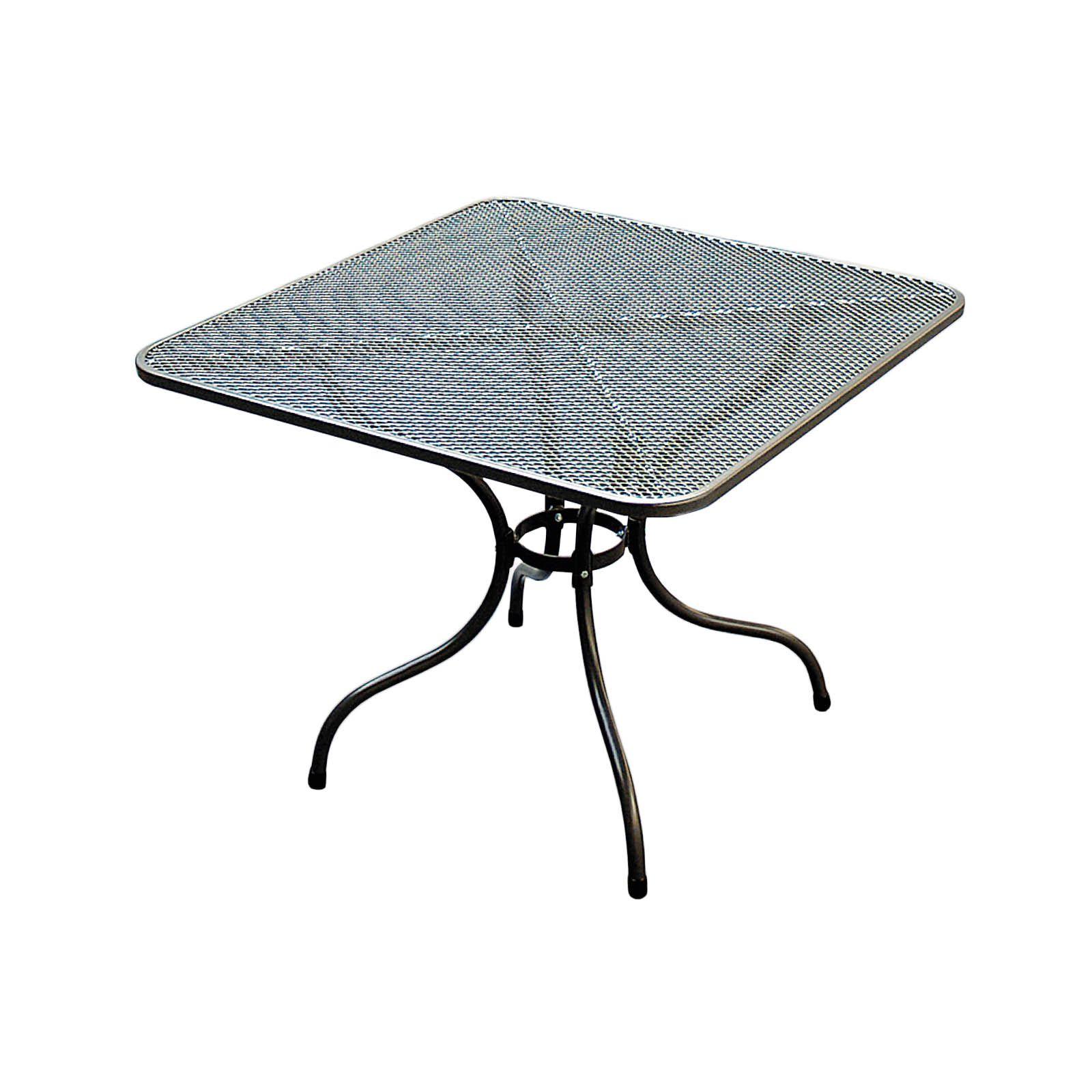 TAKO 105 x 105 cm stůl kovový Unikov - vše pro venkovní posezení na zahradě a na terase
