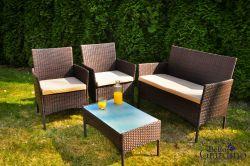 Zahradní nábytek podle materiálu