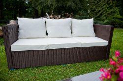 Zahradní set ratanový AMARO hnědá Bello Giardino - vše pro venkovní posezení na zahradě a na terase