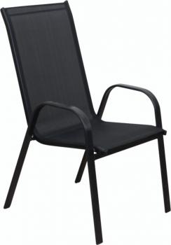 Křeslo XT1012C - černá textilie