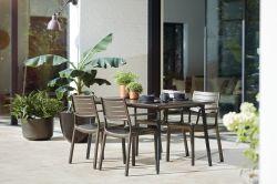 METALEA stůl Keter - vše pro venkovní posezení na zahradě a na terase