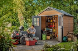 NEWTON 7511 domek Keter - vše pro venkovní posezení na zahradě a na terase