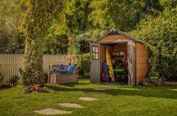 NEWTON 757 domek Keter - vše pro venkovní posezení na zahradě a na terase