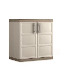 EXCELLENCE LOW XL skříňka Keter - vše pro venkovní posezení na zahradě a na terase