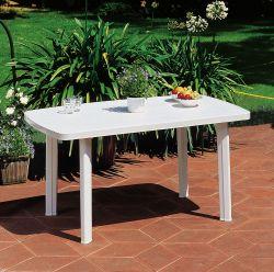 FARO stůl - bílý ProGarden - vše pro venkovní posezení na zahradě a na terase