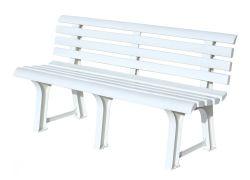 ORCHIDEA lavice - bílá ProGarden - vše pro venkovní posezení na zahradě a na terase