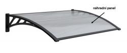 Panel polykarbonátu pro vchodový přístřešek 1146x493,5mm