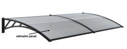 Panel polykarbonátu pro vchodový přístřešek 970x493,5mm