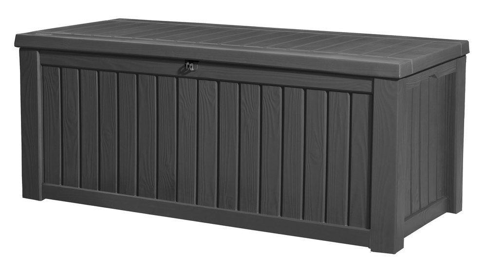 ROCKWOOD box 570L - grafit Keter - vše pro venkovní posezení na zahradě a na terase