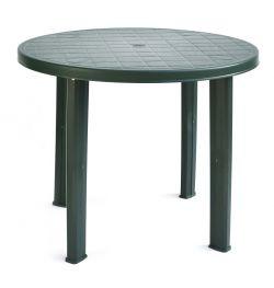 TONDO stůl - zelený ProGarden - vše pro venkovní posezení na zahradě a na terase