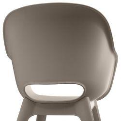 Jídelní židle Akola cup cappuccino Allibert - vše pro venkovní posezení na zahradě a na terase