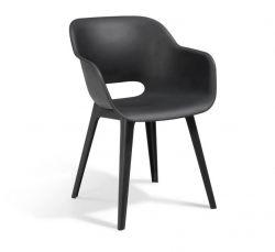 Jídelní židle Akola cup antracit