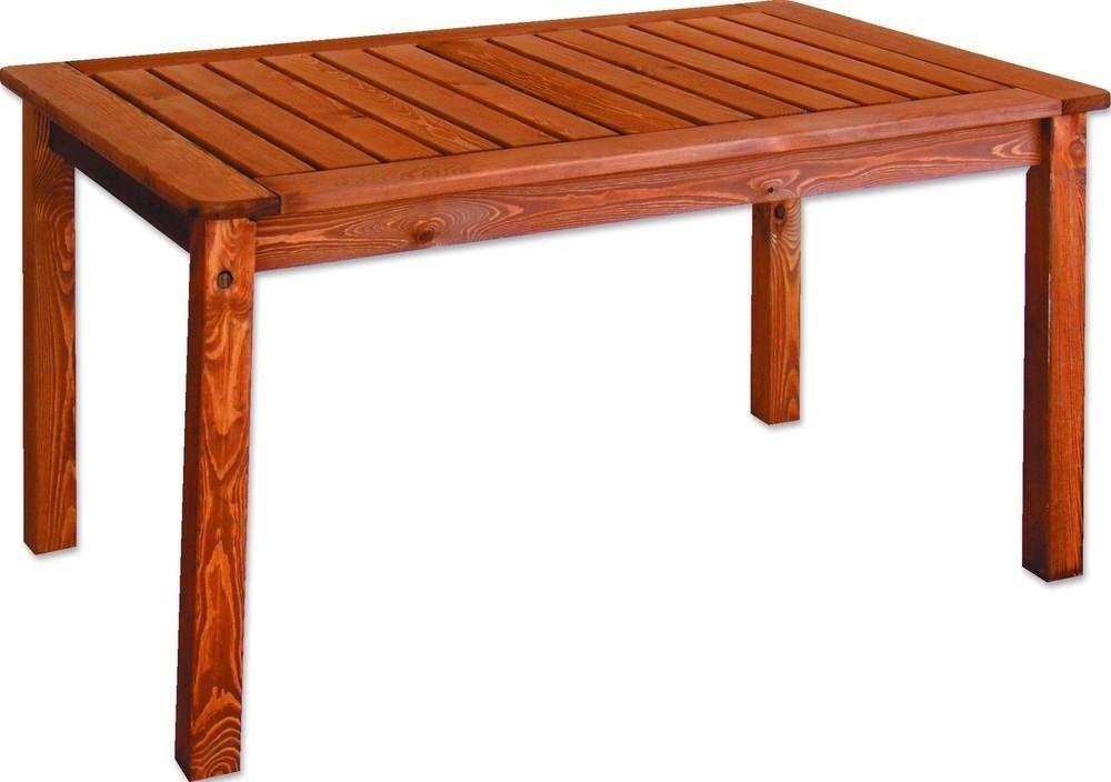 HOLIDAY zahradní stůl mořený Rojaplast - vše pro venkovní posezení na zahradě a na terase