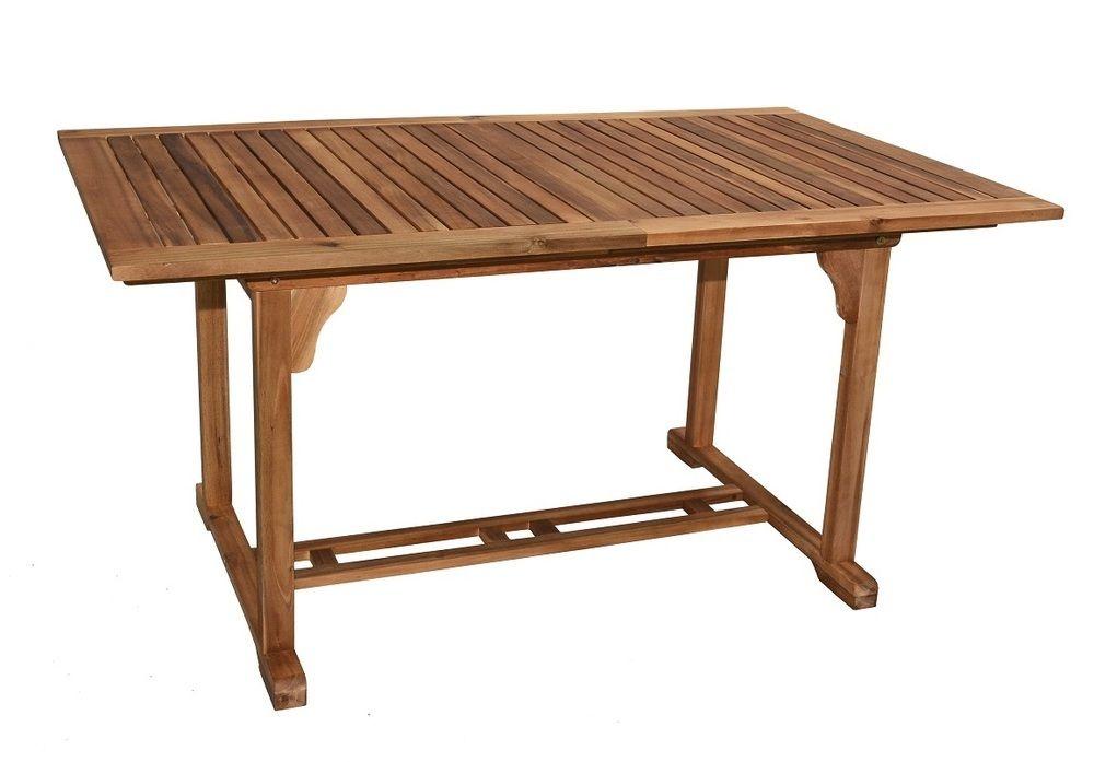 IRIS stůl zahradní dřevěný Rojaplast - vše pro venkovní posezení na zahradě a na terase