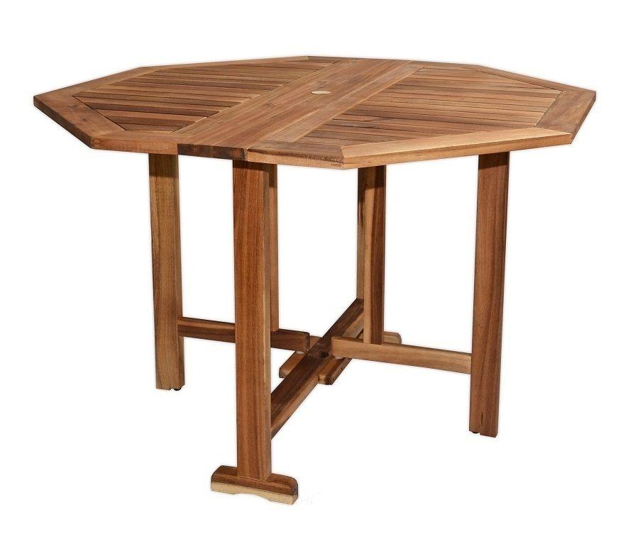 LAURA stůl zahradní dřevěný Rojaplast - vše pro venkovní posezení na zahradě a na terase