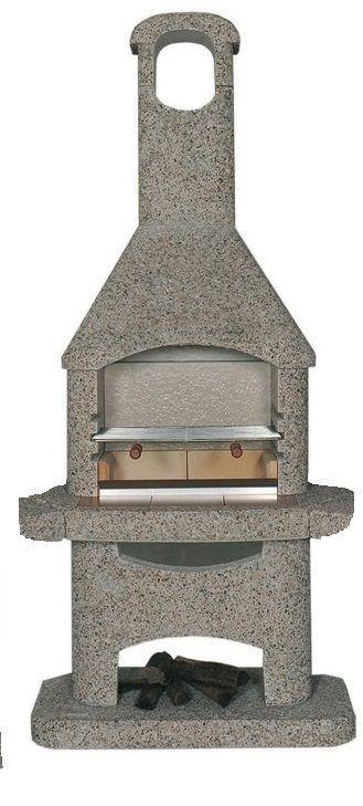 Norman Atlas hnědý vymývaný, zahradní krb - vše pro venkovní posezení na zahradě a na terase