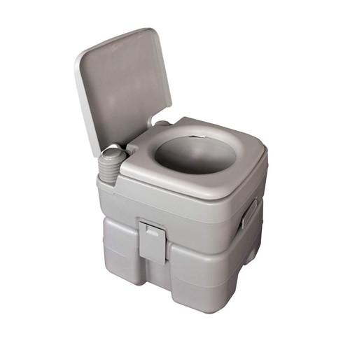 Přenosná toaleta 20 l Happy Green - vše pro venkovní posezení na zahradě a na terase