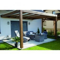 Ratanová sestava INCA Doppler - vše pro venkovní posezení na zahradě a na terase
