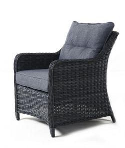 SAN DIEGO antracit- zahradní sedací souprava umělý ratan Keter - vše pro venkovní posezení na zahradě a na terase