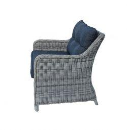 SAN DIEGO šedá - zahradní sedací souprava umělý ratan Keter - vše pro venkovní posezení na zahradě a na terase