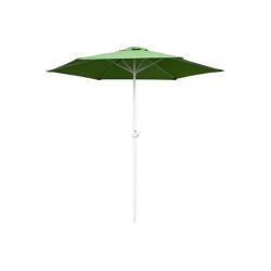 Slunečník kulatý s kličkou 230 cm, světle zelená Happy Green - vše pro venkovní posezení na zahradě a na terase