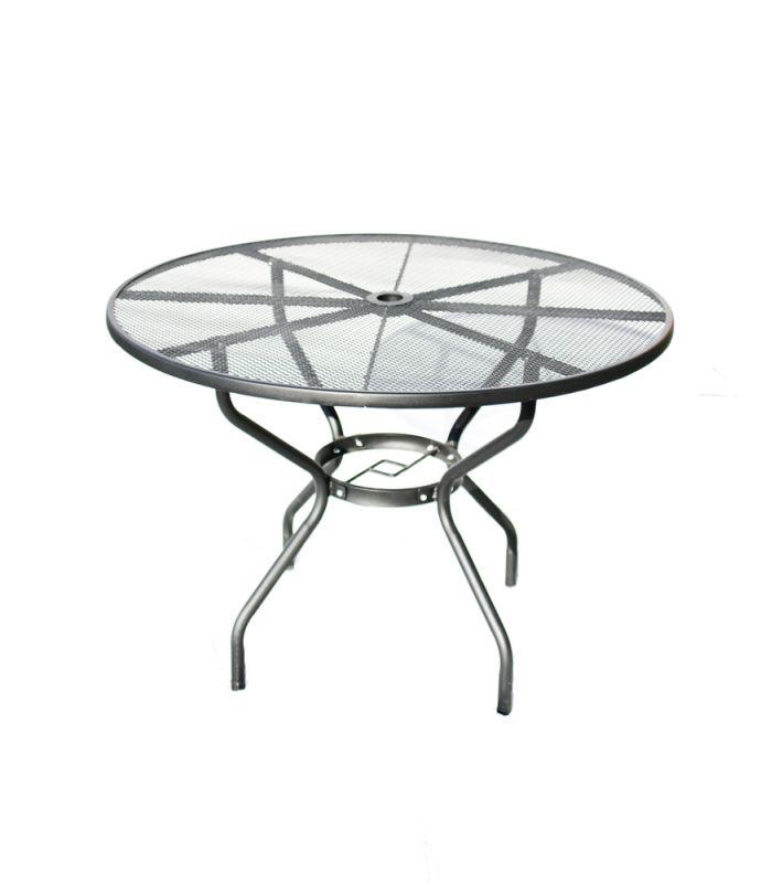 Zahradní stůl kovový ZWMT-51 Rojaplast - vše pro venkovní posezení na zahradě a na terase
