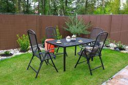Kovový set zahradního nábytku ZWM-01 Rojaplast - vše pro venkovní posezení na zahradě a na terase