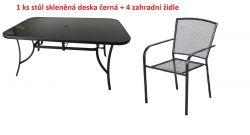 Kovový set zahradního nábytku ZWM-06