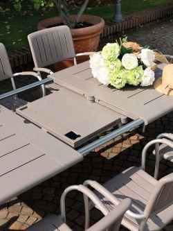 Nardi Maestrale 220, stůl venkovní rozkládací - vše pro venkovní posezení na zahradě a na terase
