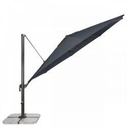 Slunečník RAVENNA 400 cm antracitová Doppler - vše pro venkovní posezení na zahradě a na terase
