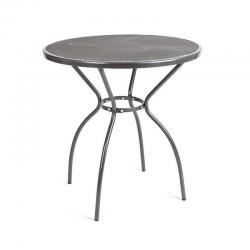 Stůl zahradní kovový kulatý 70 cm
