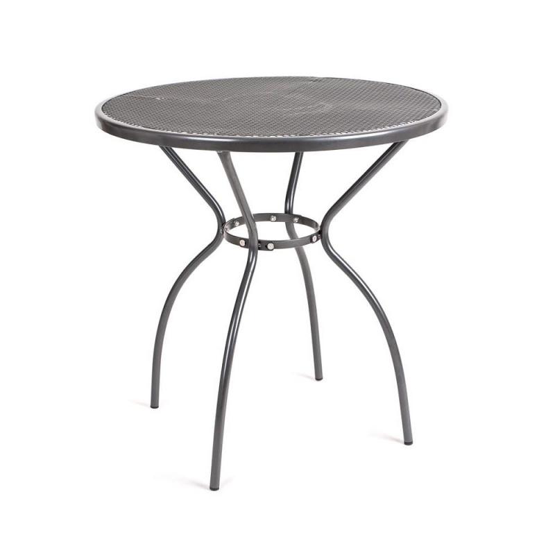 Stůl zahradní kovový kulatý 70 cm Happy Green - vše pro venkovní posezení na zahradě a na terase