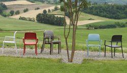 Venkovní křesílko Nardi Bora caffee - vše pro venkovní posezení na zahradě a na terase