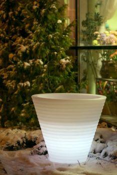Venkovní svítící květináč Afrika 80 - vše pro venkovní posezení na zahradě a na terase