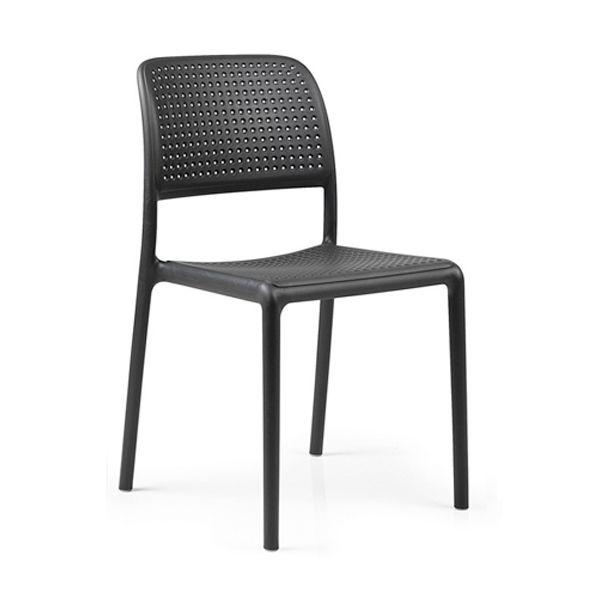 Venkovní židle Nardi Bora antracitová - vše pro venkovní posezení na zahradě a na terase