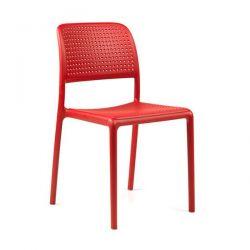 Venkovní židle Nardi Bora červená