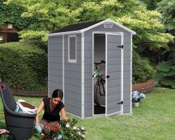 Zahradní domek MANOR 4x6 Keter - vše pro venkovní posezení na zahradě a na terase