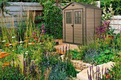 Zahradní domek SCALA 6x5 Keter - vše pro venkovní posezení na zahradě a na terase
