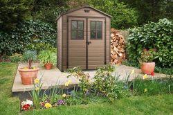 Zahradní domky, skříně, regály