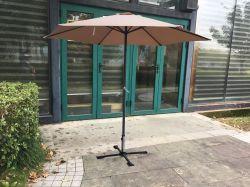 Slunečník 8120 - ø270cm - béžový Rojaplast - vše pro venkovní posezení na zahradě a na terase