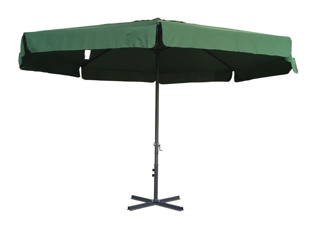 Slunečník STANDART 3m - zelený Rojaplast - vše pro venkovní posezení na zahradě a na terase