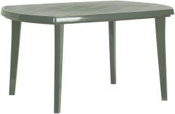 ELISE stůl - cappuchino - stůl zahradní plastový Allibert - vše pro venkovní posezení na zahradě a na terase