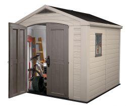 FACTOR domek 8x8 Keter - vše pro venkovní posezení na zahradě a na terase