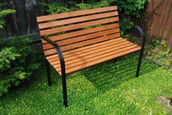lavice ŽELEZNÁ KOSTRA Rojaplast - vše pro venkovní posezení na zahradě a na terase