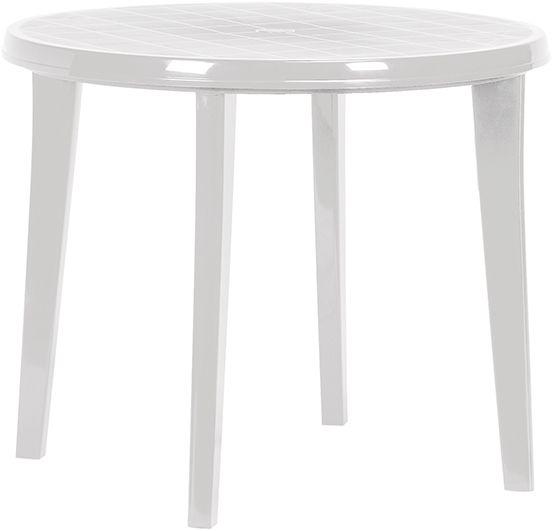 LISA stůl - bílý Allibert - vše pro venkovní posezení na zahradě a na terase