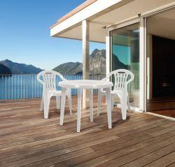 LISA stůl - cappuchino Allibert - vše pro venkovní posezení na zahradě a na terase