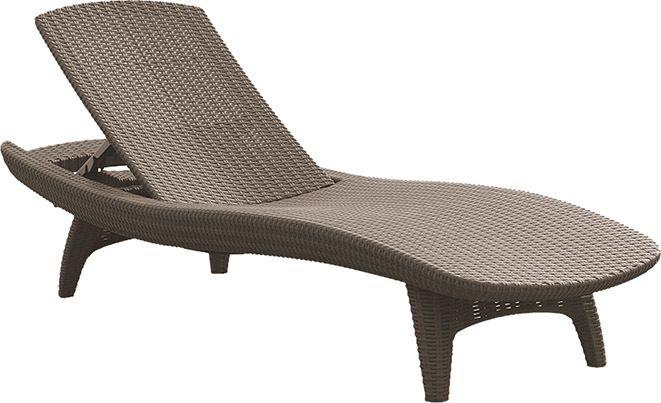 PACIFIC lehátko - cappucino Keter - vše pro venkovní posezení na zahradě a na terase